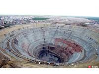 俄巨大鑽石礦坑直徑1.6公里 恐怖渦漩曾吸入直升機