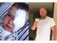 波蘭鐵餅名將拍賣「奧運銀牌」做善事 助3歲癌童治眼