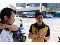 市議員還用機車代步 王浩宇:騎機車可以真正體驗路況