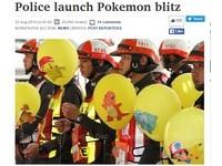 曼谷成立「Pokemon Go警察隊」 專抓低頭訓練師