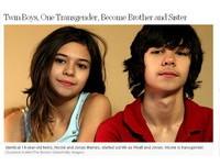 雙胞胎兄弟變雙胞胎兄妹!同DNA性趣不同 青春期變性
