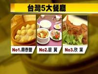 台灣最佳餐廳 1鼎泰豐2銀翼3欣葉