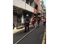 狹小巷弄搶救訓練 新竹市消防局創新護家園