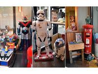 玩具迷必訪美食天堂!大軍環繞的機器人主題餐廳