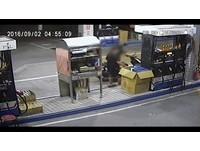 3秒偷1萬 加油員尿急上廁所…竟遭狂賊「衝刺闖空門」