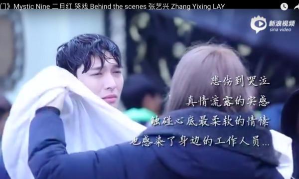 EXO張藝興救不回摯愛絕望嘶吼 下戲痛哭讓劇組好心疼