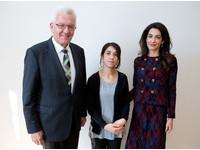 曾遭IS性侵虐待的納迪亞 如今成為聯合國慈善大使
