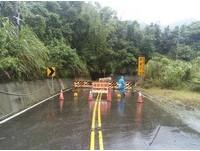 莫蘭蒂狂風豪雨! 6山區公路「預警性封閉」避開別走
