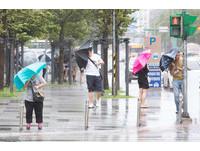 今白天雨勢趨緩有小空檔! 晚上東北風增強北台灣再下3天
