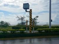 颱風唯一貢獻!測速相機被吹轉向 網笑:風超速罰3600