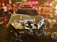 賓士旅行車撞計程車 小黃司機當場死亡