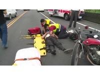疑玩手機急煞 害3輛機車連環撞4傷!他卻拍拍屁股落跑