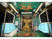 香港萬聖狂歡月開始!主題列車「搞鬼」開進台北捷運