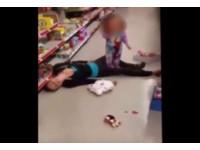 2歲女童哭喊「媽~快起來」 毒蟲母嗑藥過多暈倒商場