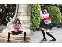 日媒也瘋台灣高校服! 屏北妹「霸氣姿勢」讓鄉民戀愛了