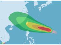 梅姬恐達中颱上限台東登陸 彭啟明:結構環流將稍胖些