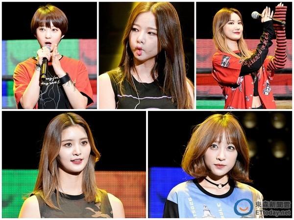 EXID台灣驚喜首唱《Cream》 主動送抱男粉「超犯規」