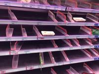 停班停課搶物資!「胖梅姬」來襲掃光賣場如「蝗蟲過境」