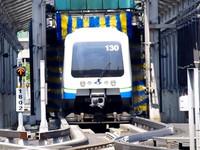 原來捷運這樣洗澡!每日共花7小時清洗20列車廂