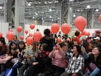 臺北創意商品大賞 百人戳氣球抽手機
