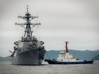 美驅逐艦馬侃號訪菲 彰顯兩國「強勁軍事連結」