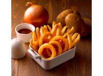 「21雙霸」馬鈴薯+洋蔥圈  雙十連假免費升級優惠