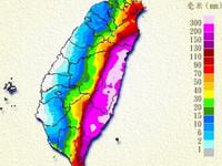 中央山脈不是故意的!颱風來造成東、西部不同調的原因