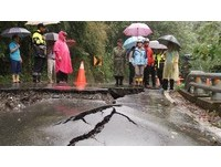 圖/超大豪雨怒掃各地!台東全縣土石流紅色警戒再提高