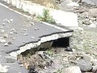 信義鄉神木村再爆土石流 聯外「溪底路」已搶通