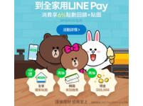 到全家用LINE Pay綁定中信卡消費 5大好康享不完