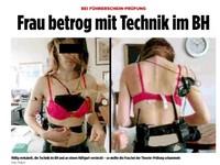 德女考駕照「全副武裝」 胸罩藏鏡頭無線電綁全身
