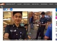 22歲「小鮮肉」航警太帥 女搶合照臉書1天300人加好友