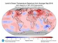 9月終結連16月破高溫紀錄! 今年有99%機率成史上最暖