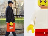 「樂高袋」紅遍歐美 3秒套上成可愛積木人