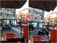 貨車併排停路口 超狂賓士轉彎「叭」1分鐘反被罵三寶!