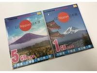 每日不到50元!日本上網卡買一送一 閃購66折只剩100組