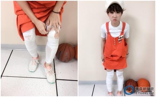 Lulu美工刀腿→木乃伊腿 自豪綁腿褲下秒被醫生打臉