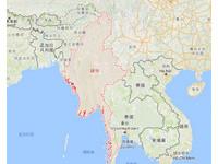 快訊/緬甸西岸驚傳飛機墜海! 官員:無法辨識國籍