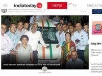 超佛心!印度鑽石大亨獎勵員工 送千輛轎車和4百間房