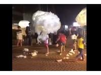 雲被童開心撕碎!媽拍照「我小孩沒拔」 法國得獎原創者超傷心