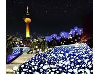 韓國大邱樂園星光慶典濃濃耶誕氣氛 83塔美景閃光必去