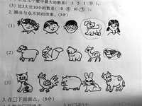 貓雞豬兔牛...哪個與眾不同?小一數學題家長想太多答不了