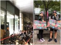 H&M聯名KENZO開賣70人排隊 搶頭香排65小時刷6萬