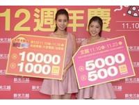 新光三越天母店周年慶 冬季棉被下殺1.5折