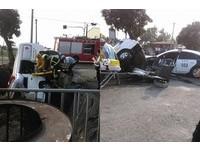 煞車已踩到底...救護車撞警車病患亡 行車紀錄器曝光