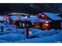 「中國雪鄉」冬天裡的童話世界 可愛「雪蘑菇」超療癒