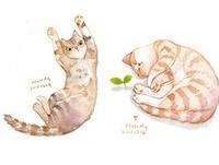 天下的貓咪都是一樣的~喵星人過很爽動圖療癒滿分