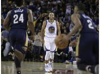 單場13顆三分球NBA第一人 咖哩怒找準星射穿鵜鶘