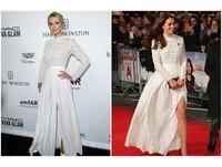 美到撞衫也要穿!凱特王妃與希爾頓都愛這件長洋裝