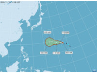 今年第24號颱風馬鞍生成了! 氣象局:增強空間很有限